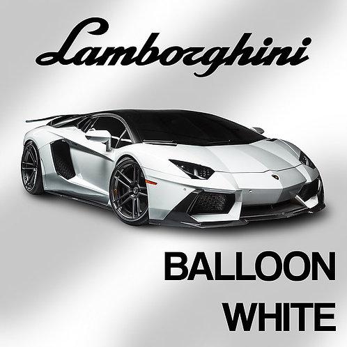 Lamborghini Balloon White