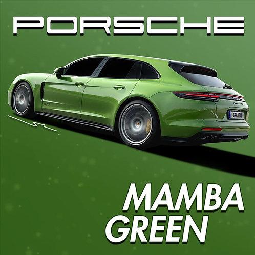 Porsche Mamba Green