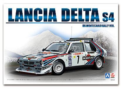 1/24 Beemax/Aoshima Lancia Delta S4 Monte Carlo Rally 1986