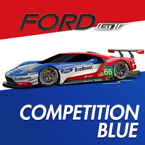 Ford Competition Blue