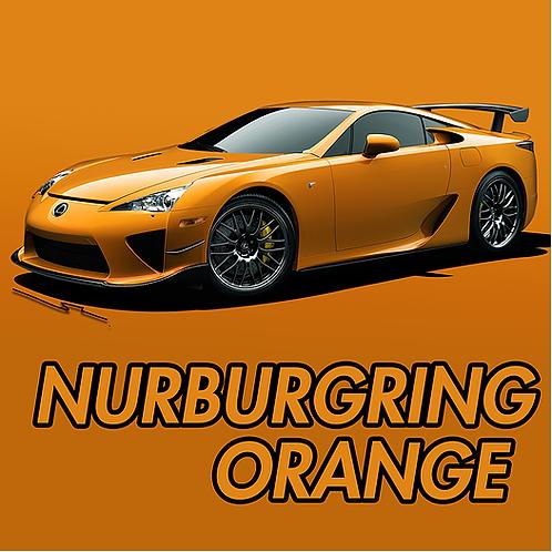 Lexus Nurburgring Orange