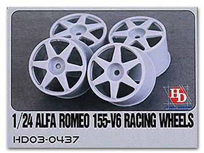 1/24 Alfa Romeo 155-V6 Racing Wheels