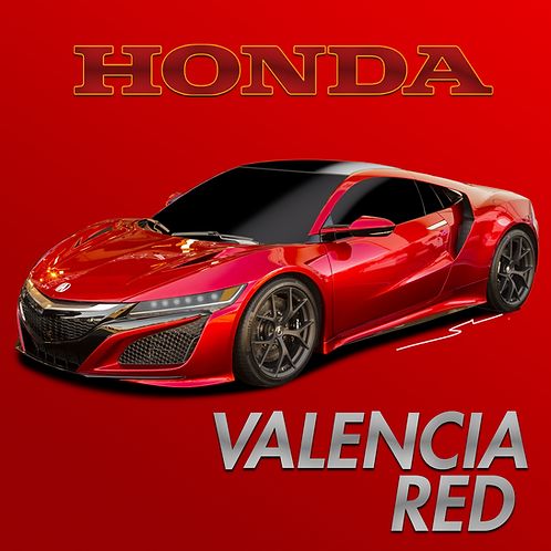 Honda Valencia Red