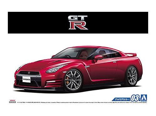1/24 Aoshima NISSAN R35 GT-R PURE EDITION '14