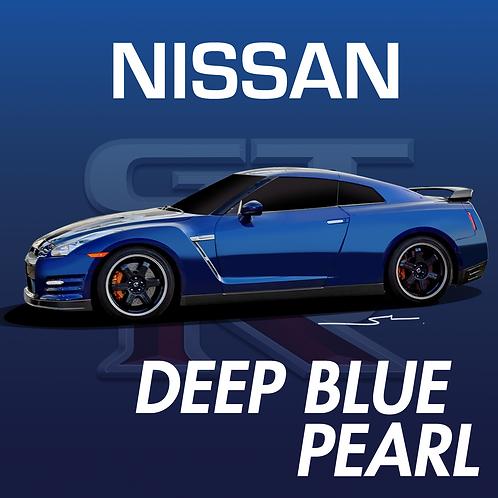 Nissan Deep Blue Pearl
