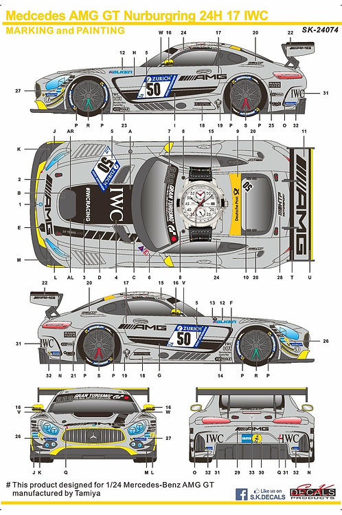 Mercedes-Benz AMG GT IWC