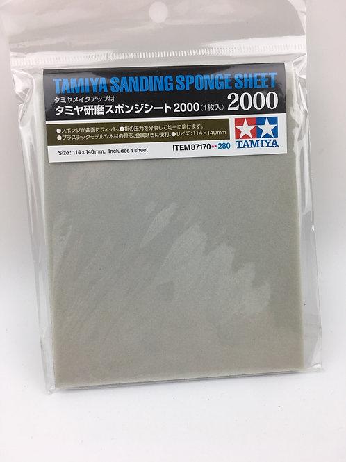 Sanding Sponge Sheet #2000