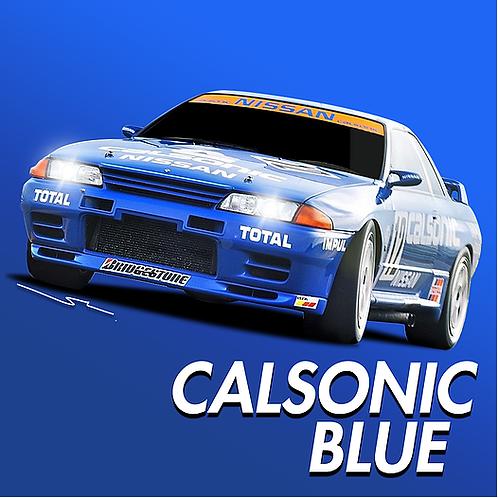 Nissan Calsonic Blue
