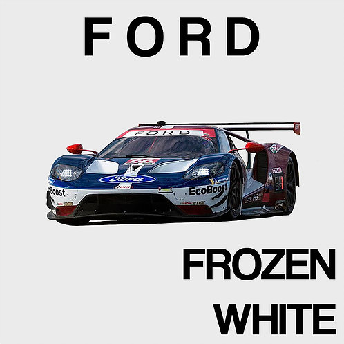 Ford Frozen White