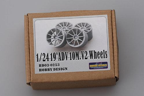 """1/24 ADV 19"""" 10M V2 Wheels"""