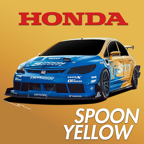 Honda Spoon Yellow