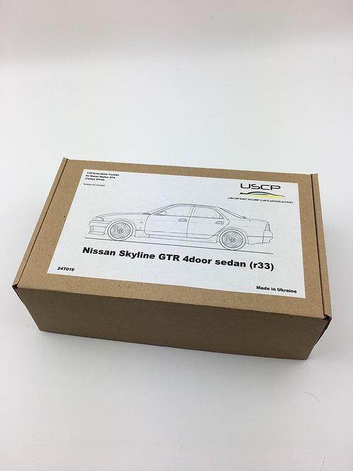 1/24 Nissan Skyline GTR 4door Sedan R33