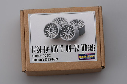 """1/24 19"""" ADV 7.0M V2 Wheels"""
