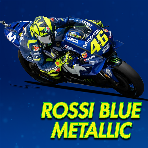 Yamaha Rossi Blue Metallic