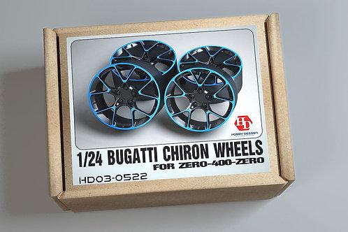 1/24 Bugatti Chiron Wheels