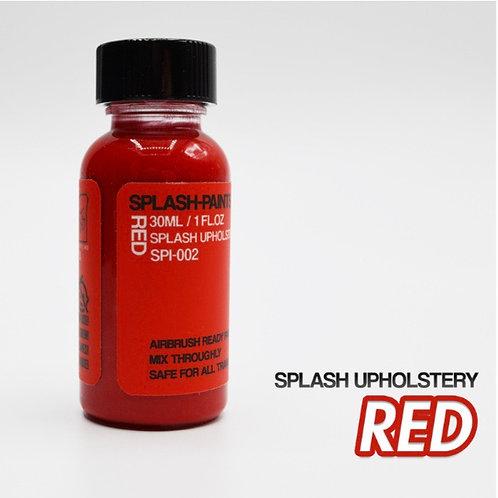Splash Upholstery Red