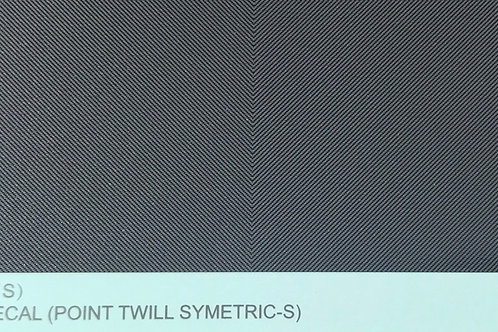 Carbon Fiber Decal (Point Twill Symetric S)