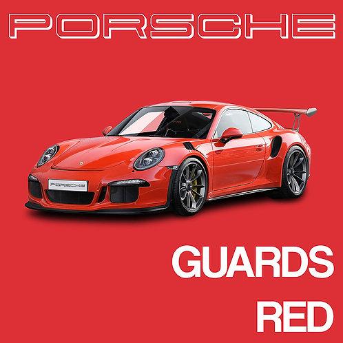 Porsche Guards Red