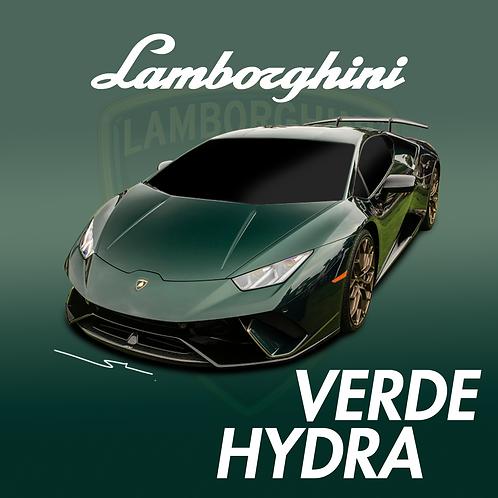 Lamborghini Verde Hydra