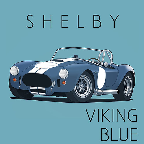 Shelby Viking Blue
