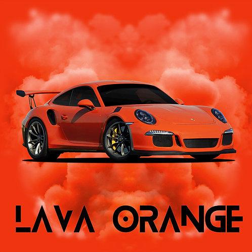 Porsche Lava Orange