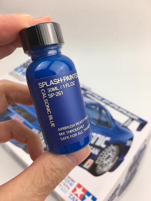1/24 Calsonic Skyline GTR + SplashPaints SP-261 Calsonic Blue