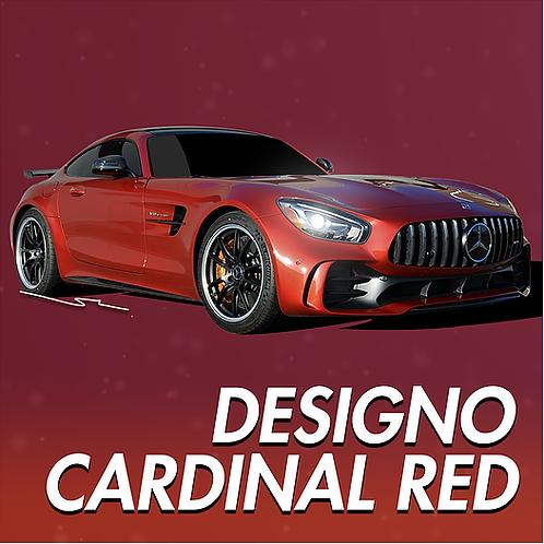 Mercedes Benz Designo Cardinal Red