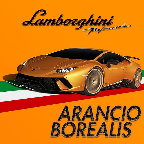 Lamborghini Arancio Borealis