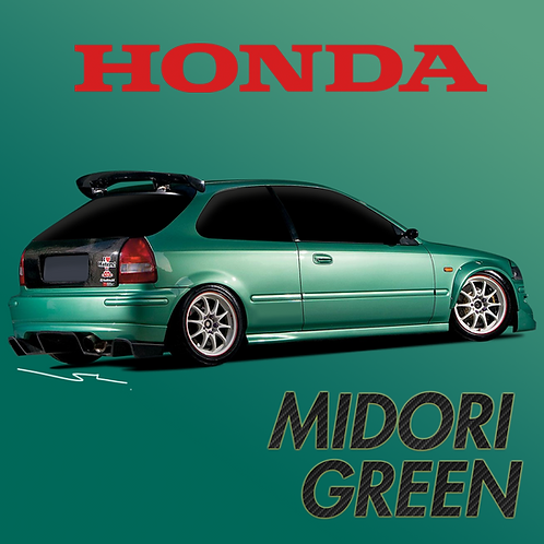 Honda Midori Green