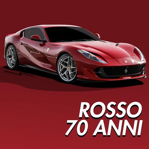 Ferrari Rosso 70 Anni
