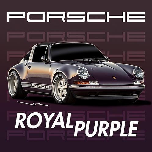 Porsche Royal Purple
