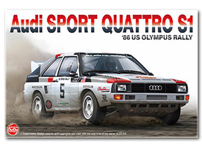 1/24 Nunu Audi Sport Quattro S1 1986 US Olympus Rally
