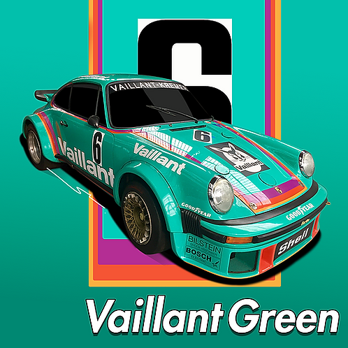 Porsche Vaillant Green