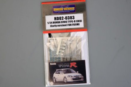 HD02-0383 1/24 Honda Civic Type-R (EK9) (Early Version) for Fujimi