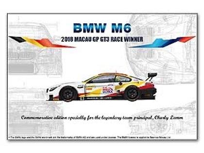 1/24 BMW M6 2018 Macau GP GT3 Race Winner