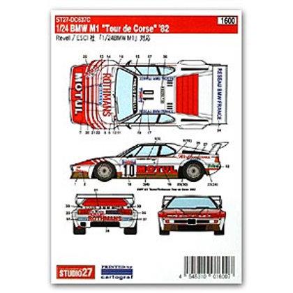 BMW M1 Motul Tour De Corse 1982