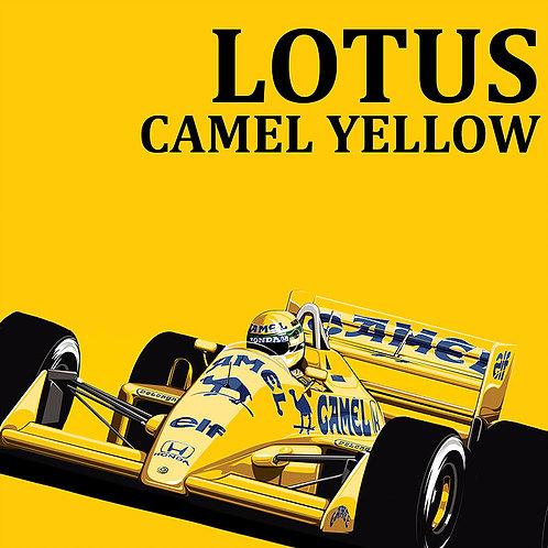 Lotus Camel Yellow