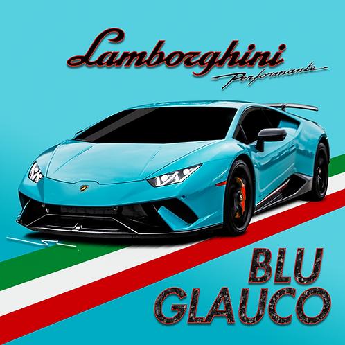 Lamborghini Blu Glauco