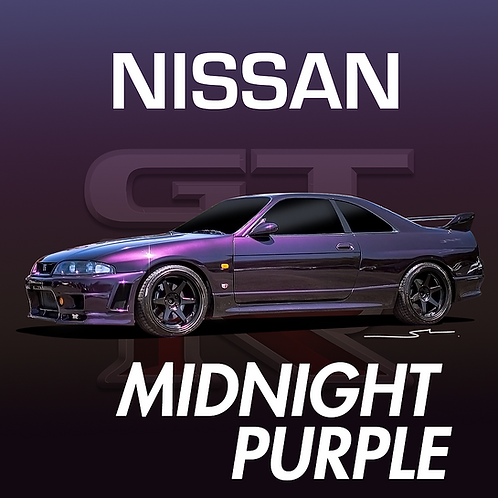 Nissan Midnight Purple