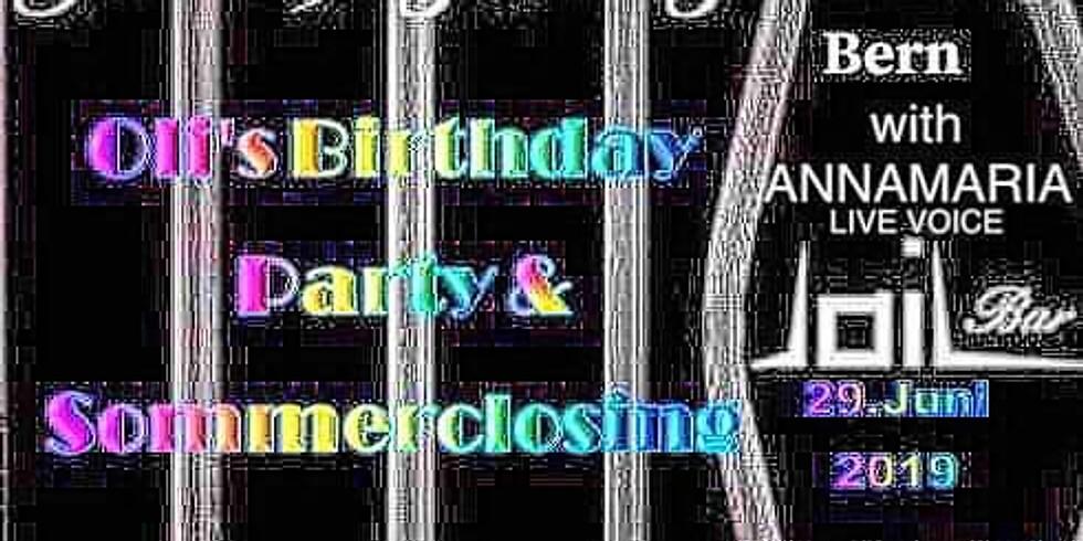 OLI's BIRTHDAY PARTY & SOMMERCLOSING