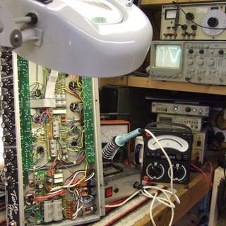 Fender twin amp repair