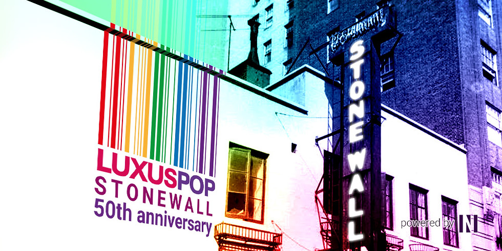 Luxuspop Stonewall 50th anniversary