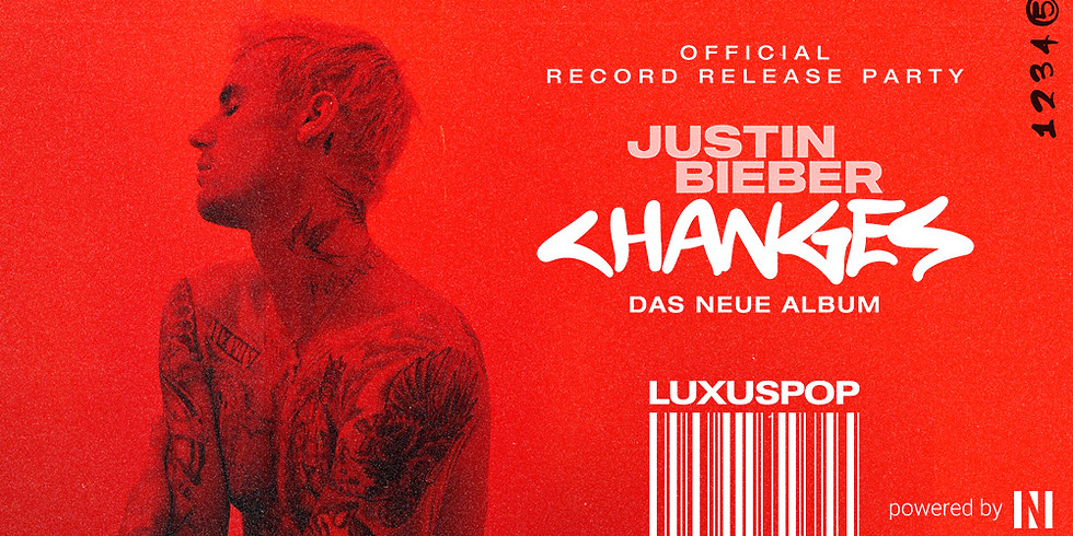 """Luxuspop """"Justin Bieber - Changes"""" Official Release Party"""