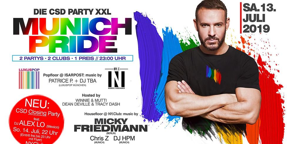 CSD Party XXL - Munich Pride 2019