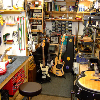 A few repairs in the workshop