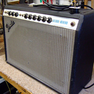 1970s fender Delux reverb