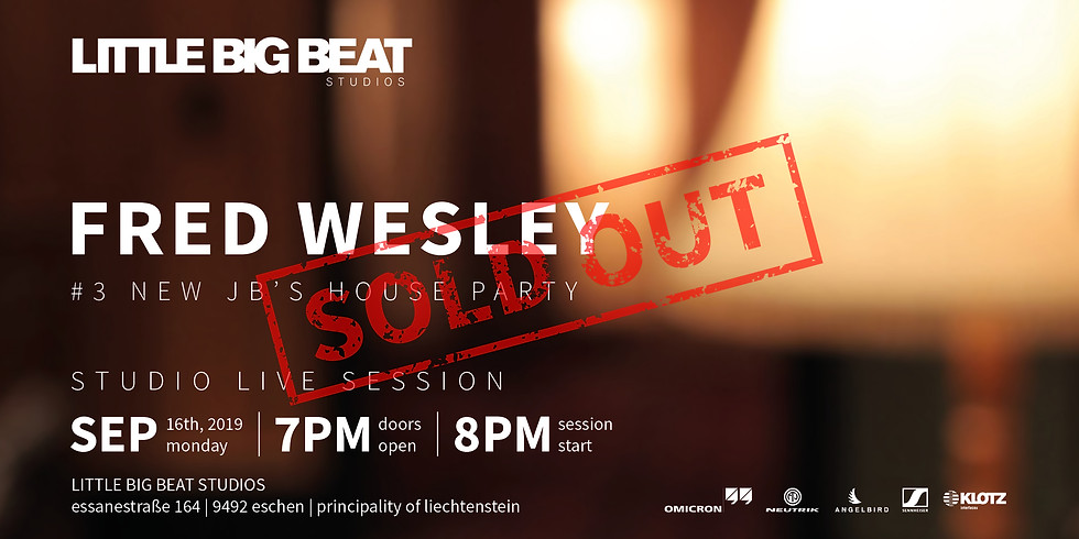 FRED WESLEY – #3 NEW JB's HOUSE PARTY