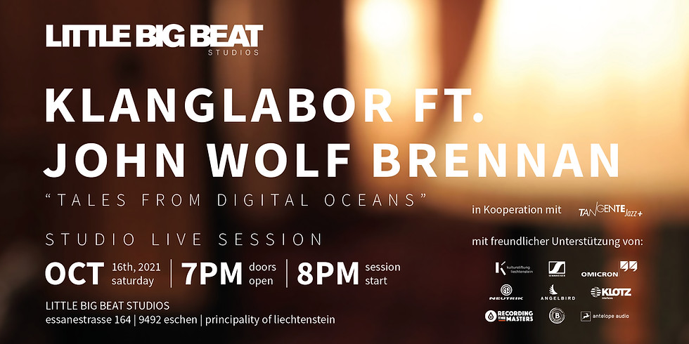KLANGLABOR FT. JOHN WOLF BRENNAN - STUDIO LIVE SESSION