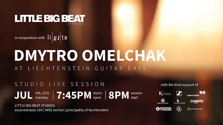 DMYTRO OMELCHAK AT LIECHTENSTEIN GUITAR DAYS - STUDIO LIVE SESSION