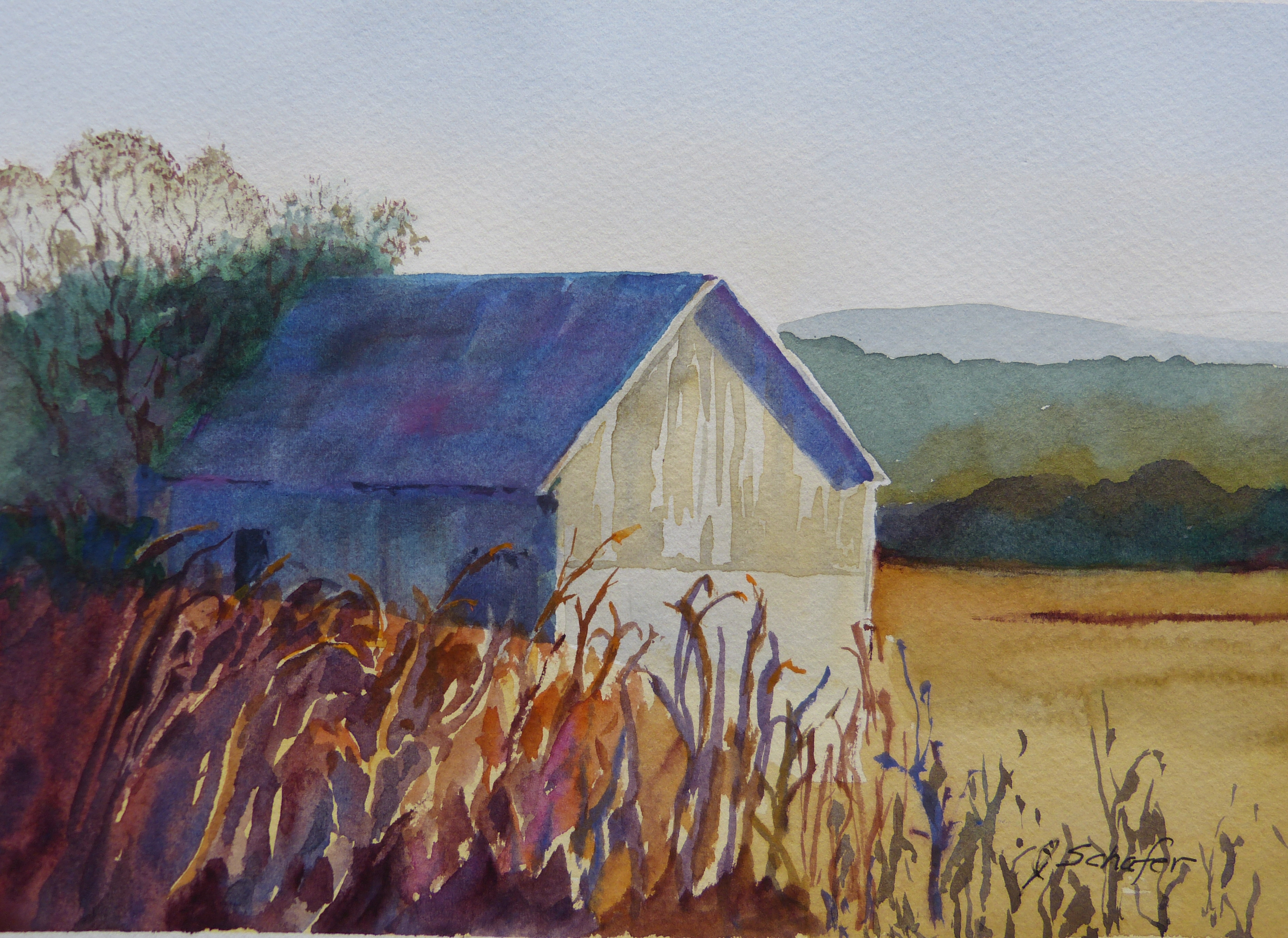 """Barn Before the Harvest"""